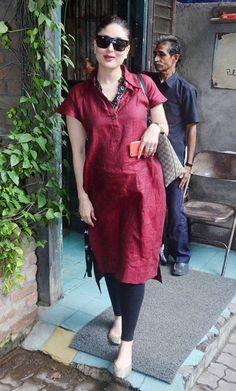 Grab ultimate fashion for expectant women as Kareena Kapoor.