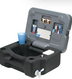 A portable sink might make the difference between the joy of camping and the drudgery. Useful anywhere outside, these battery operated sinks make washing dishes while camping less painful.