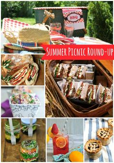 Summer Picnic foods