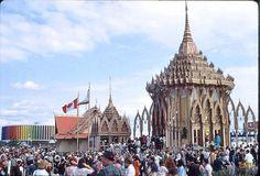 Thailand Building - 1967 World's Fair - Canada by avaloncm, via Flickr