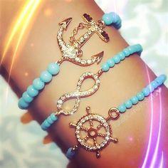 Summer Jewellery Infinity - nautical