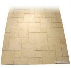 dallage calcaire travertin moka light creastone 4 formats p 3 cm aspect vieilli creastone. Black Bedroom Furniture Sets. Home Design Ideas