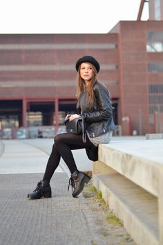 OUTFIT: CHUNKY BOOTIES