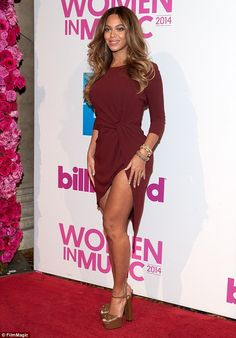 Time flies: Beyonce celebrated the one year release of her surprise album BEYONCE on Friday