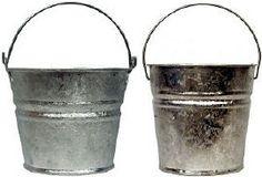 1.25 Quart Hot Dipped Bucket - Bucket Outlet