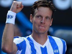 Australian Open 2014: Tomas Berdych beats third seed David Ferrer to progress to last four in Melbourne for the first time - Tennis - Sport - The Independent