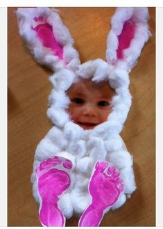 Add a face to that bunny - DIY Easter Crafts for the Whole Family - Photos