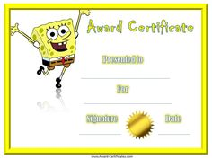 Graduation Certificate Template Free Awards Certificates Of Achievement  Editable  Student Awards .