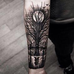 Tree tattoo arm http://www.dubuddha.org/tree-tattoo-arm/