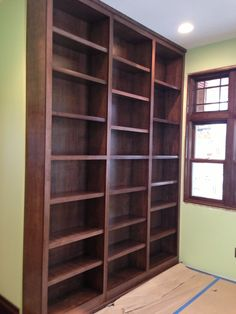 New built in shelving w Lifespan Closets systems