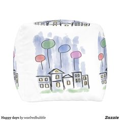 Happy days outdoor pouf