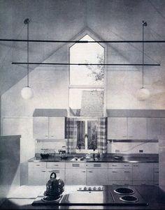 "House Beautiful featured kitchen ""Nova Scotia Kitchen,"" 1959"