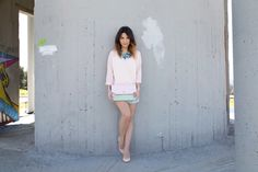 Party with pastels and MCM Love At First Sight, Dusty Pink, Pastels, Party, Outfits, Fashion, Outfit, Moda, Suits