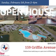Come and join us for this wonderful Open House on Sunday, February 5th 2-4PM. Fabulous home tucked away on a quiet street in Williamsburg. Live in this tight-knit community in Fate and share award-willing Rockwall schools, including Shannon Elementary. Williamsburg enjoys a large clubhouse, multiple pools, and gym. Close to I-30, shopping, restaurants and entertainment. The sellers hate to leave this great home.
