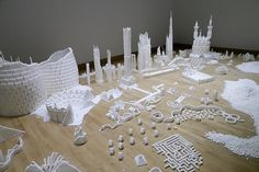 Communities Build Small Cities Using 500,000 Sugar Cubes - My Modern Metropolis