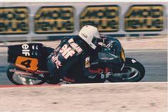 Ron Haslam, ELF ROC-ELF5, 1988 French 500cc Grand Prix, Paul Ricard