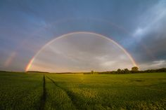 doppelter Regenbogen Schwäbische Alb