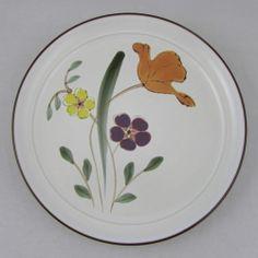 Noritake Dinner Plate Stoneware Hello Spring Pattern Colorful Flower Background | eBay