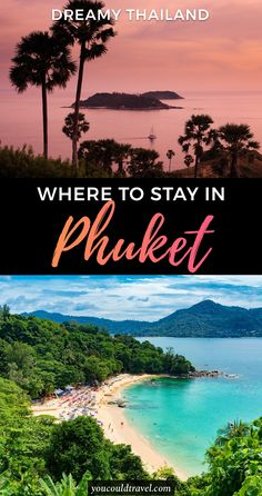 Where to stay in Phuket (an epic guide with pros and cons) - Wondering where to stay in Phuket, Thailand? Check out epic area guide to find out exactly where to book your upcoming holiday to dreamy Thailand. #thailand #phuket #guide