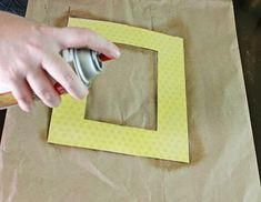 Take inexpensive frames and scrap paper and you'll have stylish Easy Decoupage Frames for your home! If you're looking for decoupage ideas, this homemade picture frames is a simple afternoon project that add a pop of color to a wall or coffee table. Diy Decoupage Frame, Frame Crafts, Diy Frame, Decoupage Ideas, Homemade Picture Frames, Homemade Pictures, Framed Scrapbook Paper, Retro Fridge, Mod Podge Crafts