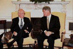 President Bill Clinton and Israeli P.M. Yitzhak Rabin, 1995 Clinton Foundation, Jewish History, Us Presidents, Politicians, Public Speaking, Global Warming, Hate, American Presidents
