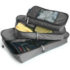 Amazon.com: TravelWise Packing Cubes - 3 Piece Set (Black): Clothing