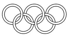 olympic ring image to colour in | Click here to save a copy of these Olympic Rings to your desktop to ...