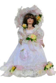 Victorian Porcelain Doll-Stunning Victorian doll-Porcelain Victorian Doll-Dysnee