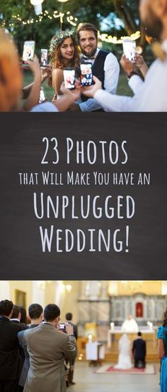 These 23 Wedding Photos that Will Make you Want to have an Unplugged Wedding. 23 Reasons to ban Phones, Cameras and iPads from your wedding. Event Planning Quotes, Event Planning Business, Wedding Planning, Wedding Costs, On Your Wedding Day, Dream Wedding, Budget Wedding, Unplugged Wedding Sign, Wedding Signs