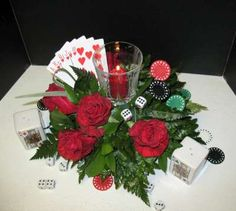 I don't like that votive, but the rest is a cute idea