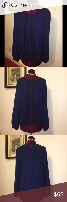 🌺Alter'd State Long Sleeve Blouse🌺Size Small🌺 Beautiful light weight Alter'd State Blouse with an intricate front🌺Size Small🌺 Altar'd State Tops Blouses