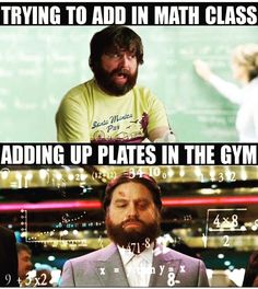 Here are some of the Funniest Gym, Workout and Fitness Memes that will Definitely Crack You Up. Workout Memes, Gym Memes, Gym Workouts, Funny Memes, Workout Posters, Funny Workout, Life Memes, Funny Quotes, Crossfit Humor