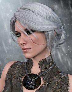 Cirilla Fiona Elen Riannon From The Witcher Wild Hunt Ciri Portrait Warrior Girl, Fantasy Warrior, Fantasy Girl, Fantasy Women, The Witcher Wild Hunt, The Witcher Game, The Witcher Geralt, Witcher Art, Fantasy Characters