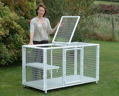 Bunny Cages, Rabbit Cages, Dog Cages, Pet Cage, Diy Cat Enclosure, Outdoor Cat Enclosure, Cage Chinchilla, Cat Cages Indoor, Pet Bunny Rabbits