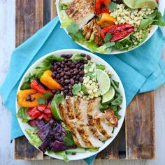 Grilled Chicken and Southwest Vegetable Salad