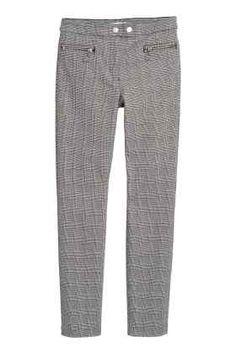 Pantalon stretch habillé Hundtandsmönster 2b0d9be5678