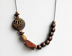 Handpainted necklace
