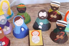 Child's Felt Nativity Set Pattern