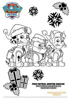 Paw Patrol Weihnachten