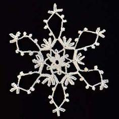 FREE PATTERN ~ Crochet Snowflake #20