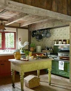 I think this is my dream kitchen!