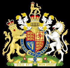 Royal coat of arms of the United Kingdom of Great Britain and Northern Ireland