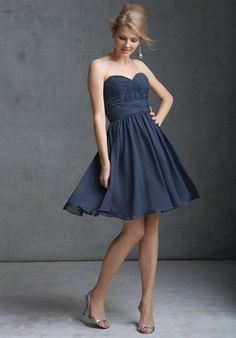 This is not dressy enough, but this is the type of blue that I'm trying to go for.