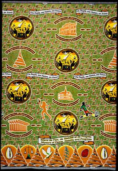 Commemorative Fabrics from Africa