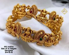 Sf WhatsApp to order Rd matte finish bangles Shipping charges Code. Sf WhatsApp to order 7483407994 Gold Bangles For Women, Gold Bangles Design, Gold Earrings Designs, Necklace Designs, Jewelry Design, Bridal Bangles, Bridal Jewelry, Gold Jewelry, Gold Necklace