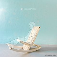 Hipocampo 3 in 1 Rocker (prototype) on Behance Furniture Making, Wood Furniture, Cnc, Class Tools, Laser Cutter Projects, Made Of Wood, Rocking Chair, Baby Room, Diy And Crafts