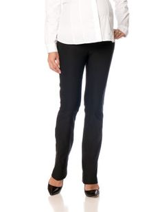 A Pea In The Pod Maternity Secret Fit Belly(r) Tech Twill Straight Leg Maternity Pants