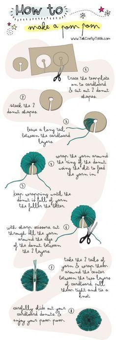 How To Make a Pom Pom