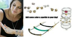 Joanna Morgan Designs - love of color and sparkle!