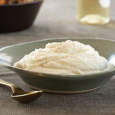 Hot, Buttered  Cauliflower Puree